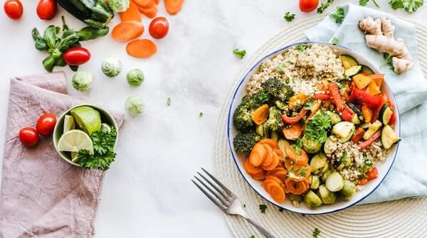 workout at home balanced diet