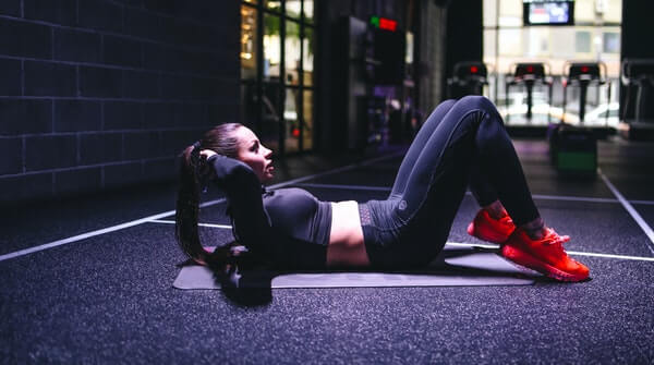 How to do Classic Crunches. Always avoid putting strain to your head and neck