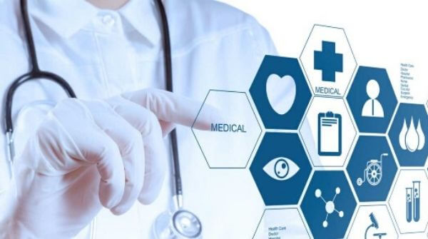 This image depicts future scope of data analysis  in healthcare sector.