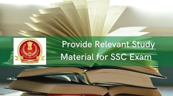How to select SSC coaching- the institute must provide relevant study material along with access to extra notes for the exam preparation
