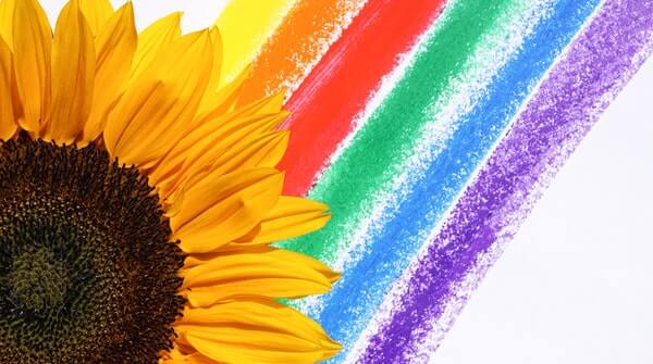 rainbow meditation helps to align the mind with its thoughts and relieves stress