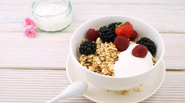Ways to improve immunity- eating yogurt enriches the body with important minerals and enzymes