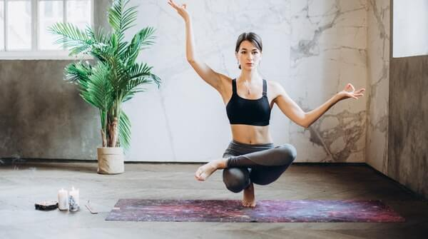 Learn to practice yoga at home. Yoga helps to increase flexibility, improve respiratory and cardiovascular health and overall improves the quality of life.
