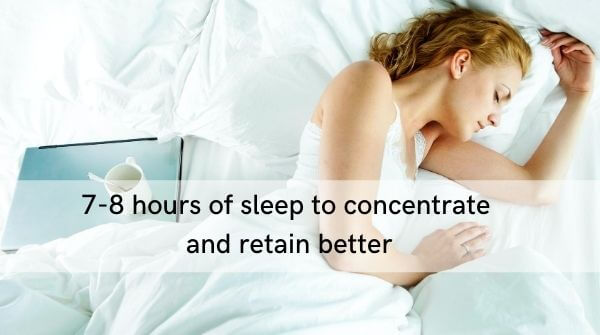 Sufficient amount of sleep is indispensable part of Online Preparation of IAS Exam