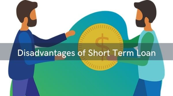 Short-term loans usually attract high interest rates and large monthly payments. Because you are financing your main debt in a shorter period of time