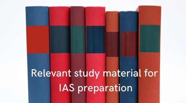 Updated study material in sync with the latest syllabus is an important tip to choose best IAS coaching institute