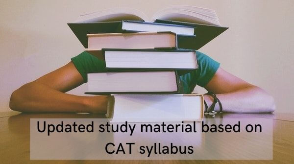 Updated study material helps find best coaching for CAT preparation
