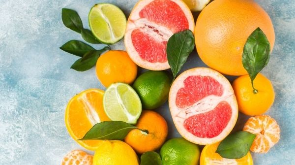 One of the food to lower blood sugar levels is having citrus fruits regularly because it has a low GI.