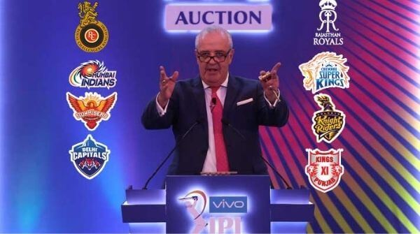 Auctions for the 2020 season of the T20 IPL cricket tournament