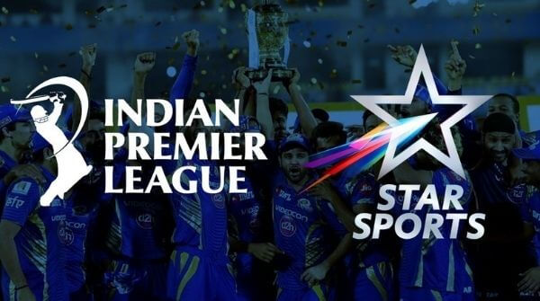 Star sports buy media rights and become the official broadcasting partner for the Indian Premier League