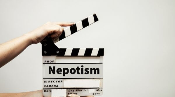 Nepotism a boon or bane. This question of doubt may or may not be correct . search here & know how much relevant is this.