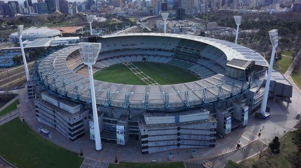 Melbourne Cricket Ground the highest capacity stadium in Australia