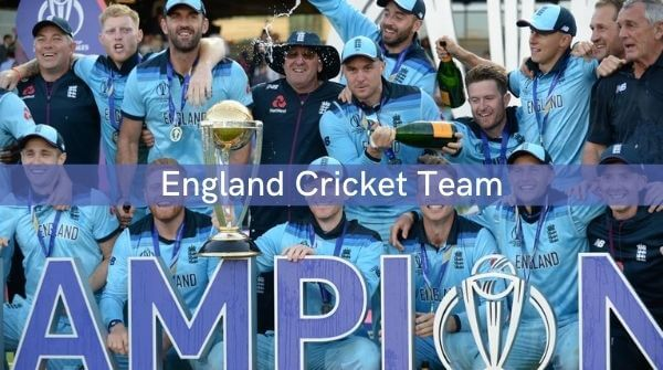 England Cricket Team Players celebrating after winning the 2019 Cricket World Cup