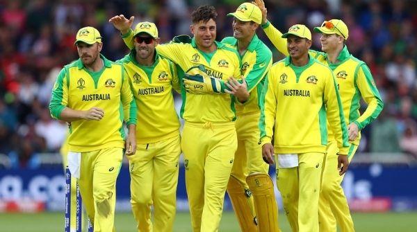 Australian Men Team enjoying on the field after a Match