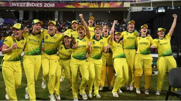 Australian Women Team as world number one in the ICC One Day Ranking