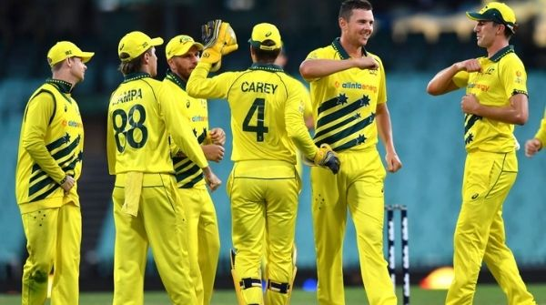 T20 Champions Australian Team holding the first position in the World T20 Ranking