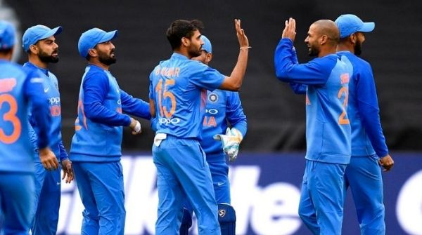 Indian Cricket Team stands at number three in the rankings table