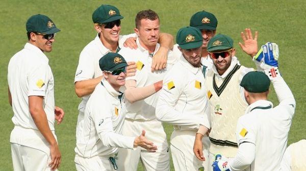 Test Match Rankings team Australia at 1st Position