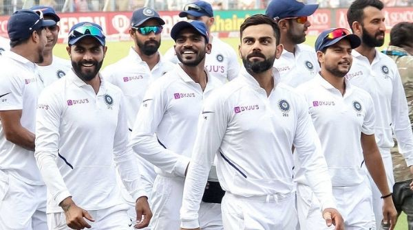 Indian Test Team at position 3 at the ICC Test Cricket Match Ranking Table, lead by captain Kohli
