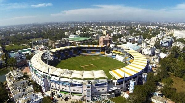 Wankhede Stadium at Mumbai one of the venues used for India's International cricket matches