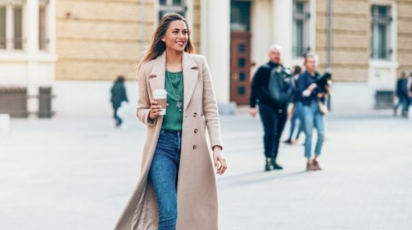 Winter clothes or tops for girls have to include long coats. Also, it is the trendiest Winter Wear for Women.
