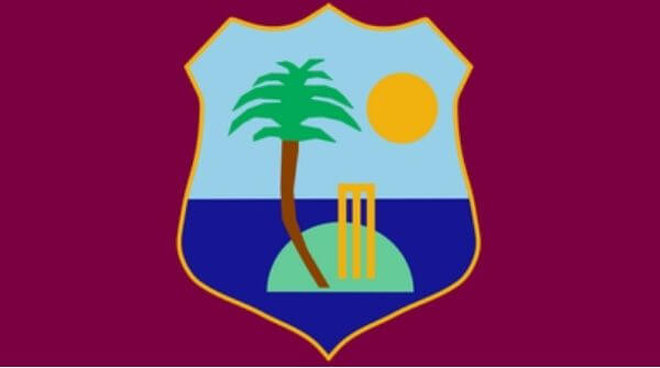 The logo of the West Indies Cricket Board, Cricket West Indies that is the governing body of the Windies team
