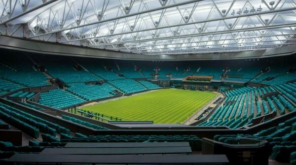 The main court of the grand slam tournament also known as the Centre Court