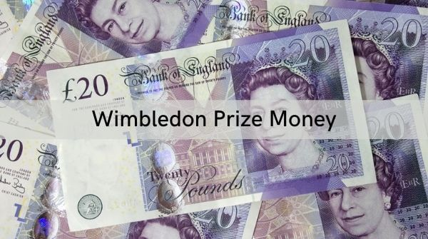 Wimbledon prize money given along with the trophy to the winners of the tournament