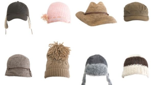 These cute woolen caps will keep you warm and cozy.