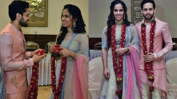 Marriage pictures of Indian Best female badminton player and world number 1
