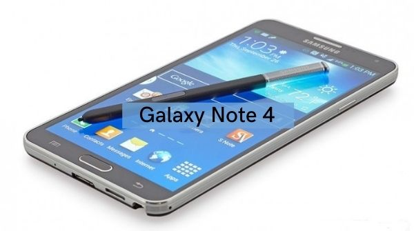 Regarding Note 4 and its specification, S Pen and uses.
