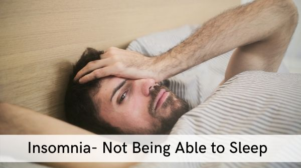 Sleep Disorders- insomnia is a disorder where you cannot fall asleep at all even during the night & day. no matter what