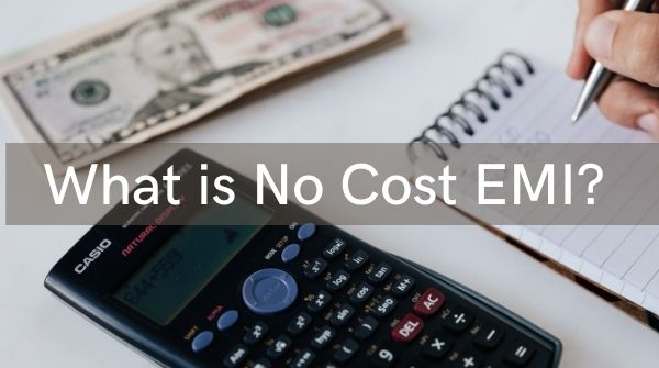 The meaning of Zero-Cost EMI is one can use this offer to buy costly items if he's not able to make a direct payment.