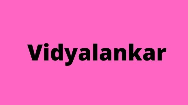 Vidyalankar provides quality education to the students and understand their needs.