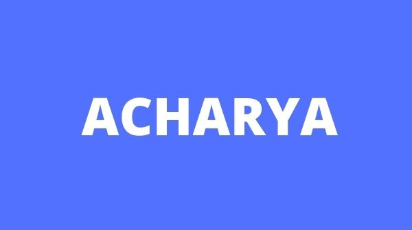 Acharya is A1 which is why we have included it in the list of Best MBA Colleges in Bangalore.