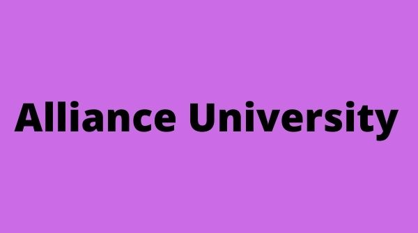 Alliance University is one of the Best MBA Colleges in Bangalore.