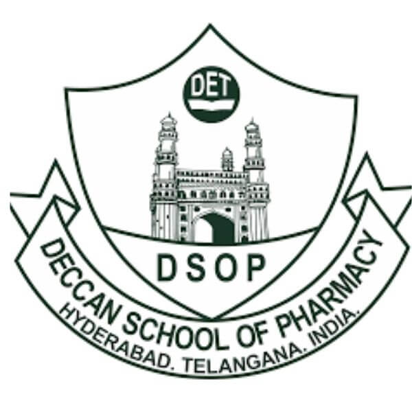 This image is a logo of Deccan School of Pharmacy, Telangana