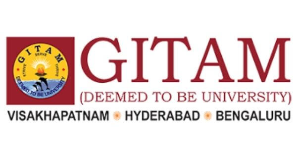 This is the logo of GITAM PHarmacy College, Hyderabad