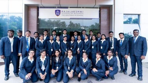 Rajalakshmi School Of Business In Chennai.