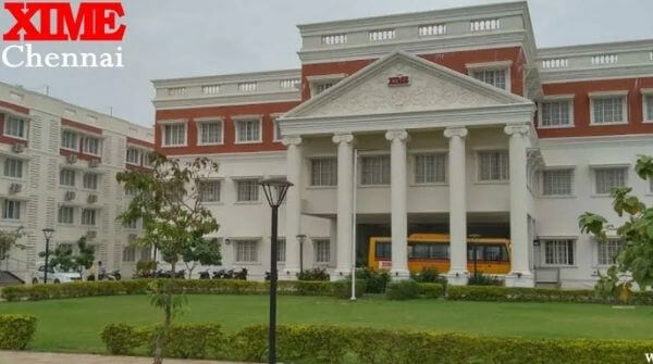 XIME the 5th best college in the list of best MBA colleges in Chennai.