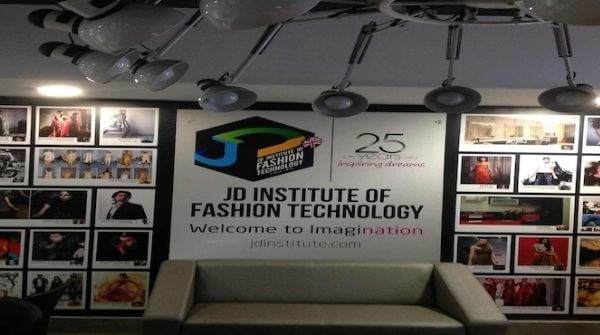 Picture of the JD Institute of Fashion Technology in Bangalore.