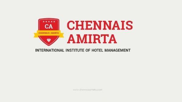 Hotel Management Colleges in Chennai - Amirta College logo
