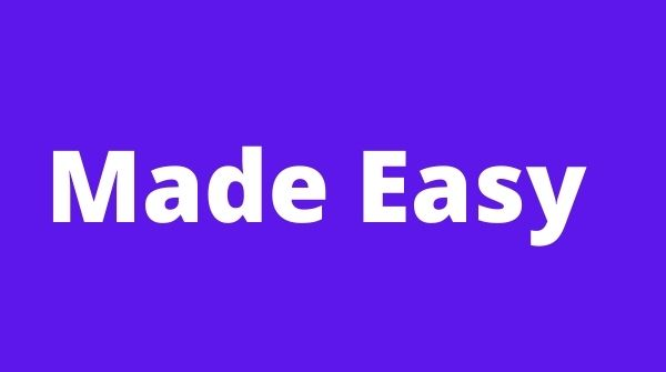 Made Easy is perfect for GATE Online Coaching.