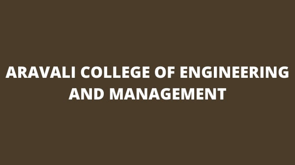 Aravali College of Management and engineering is a prestigious body.