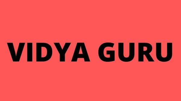 Vidya Guru is known for holistic approach and quality education.