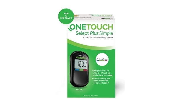 Image results on One touch with glucometer strips