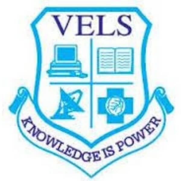 This is the logo of Vels School of Education