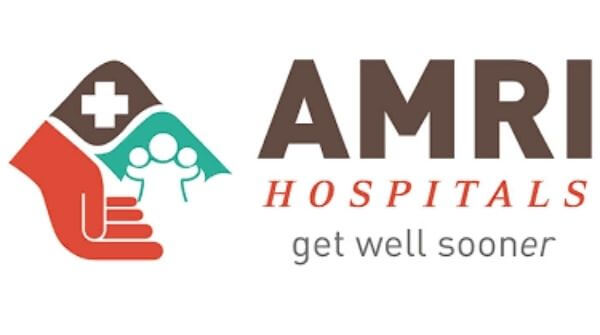 This is the AMRI hospital logo for best Cardiologists in Kolkata.