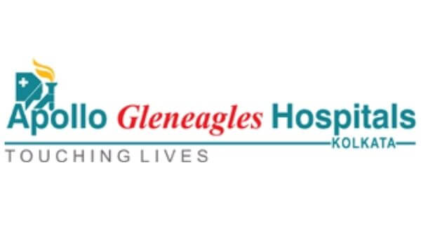 This is the logo of Apollo hospitals for the best heart specialists in kolkata.