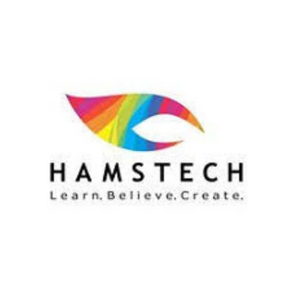 This is the visual of the Hamstech logo for Fashion Designing Course in Hyderabad.